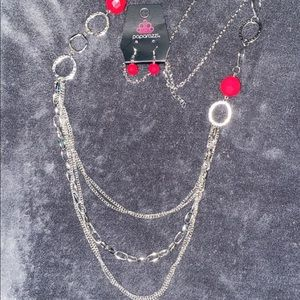 Margarita Masquerades-Pink necklace set